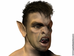 Tad:  I was a Teenage Orc